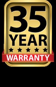 35-year warranty
