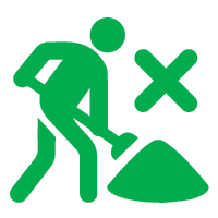 Trenchless pipe relining icon