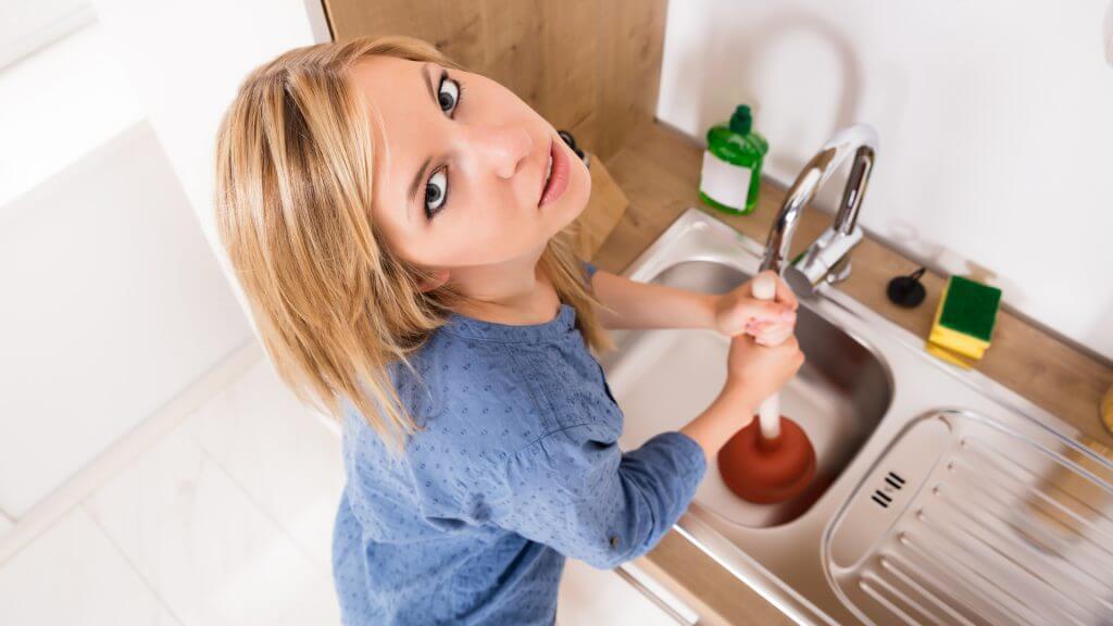 slow sink drain